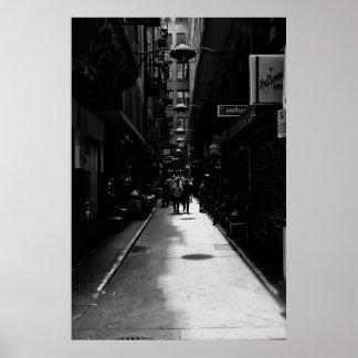 Melbourne Laneway Poster