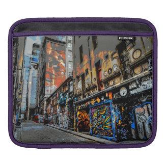 Melbourne Street Art iPad pad Horizontal Sleeve For iPads