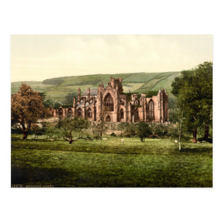 Melrose Abbey, Scottish Borders, Scotland Postcard