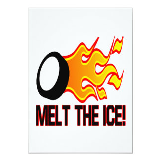 Melt The Ice 5x7 Paper Invitation Card