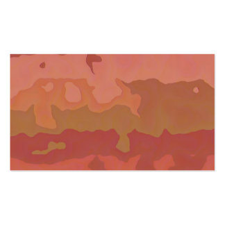 Melted Lipstick - Rosy Beige Abstract Pack Of Standard Business Cards