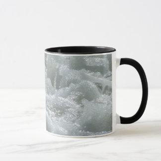 Melted metal mug