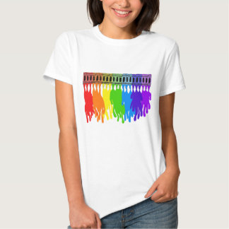 Melting Crayon Art Wear Tshirt