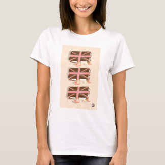 melting union jack sandwich T-Shirt