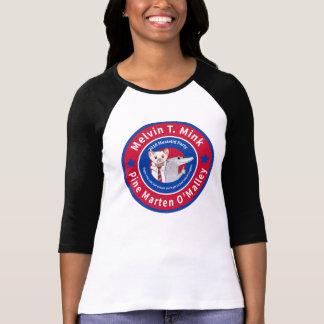 Melvin T. Mink baseball t-shirt