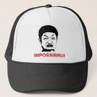 meme impossibru trucker hat