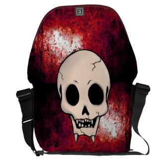 Memento Mori Demon Skull Courier Bags