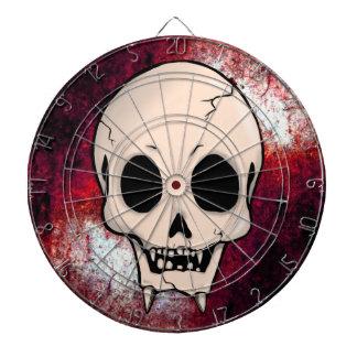 Memento Mori Demon Skull Dartboard