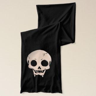 Memento Mori Demon Skull Scarf