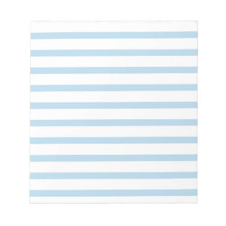 Memo Pad with Blue Stripes Business  Classic