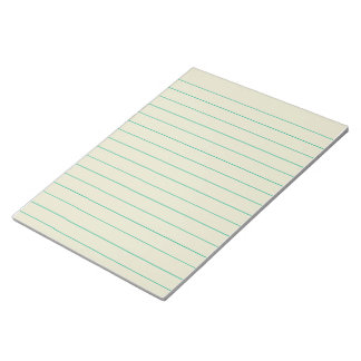 Memo Pad with Lines Business Lined Vintage