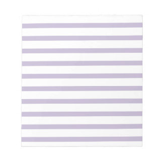Memo Pad with Stripes Business  Classic Pink