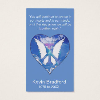 Memorial Card | Peace Rainbow