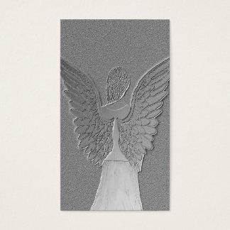 Memorial Card | Silver Angel