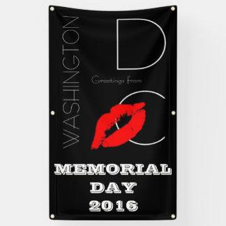 Memorial Day 2016 Washington DC Red Lipstick Kiss