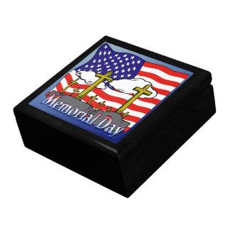 Memorial Day - Flag Gravestone Gift Box