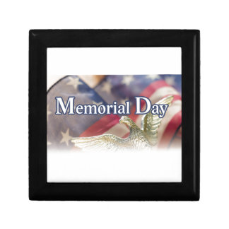 Memorial Day Small Square Gift Box