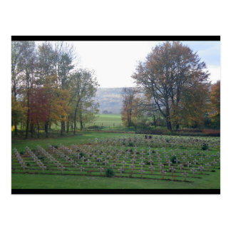 Memories from Flanders - War Graves, WWI Postcard