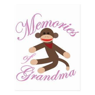 Memories of Grandma Postcard