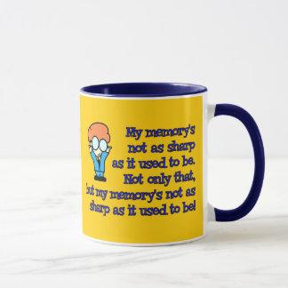 Memory Loss Geek Mug
