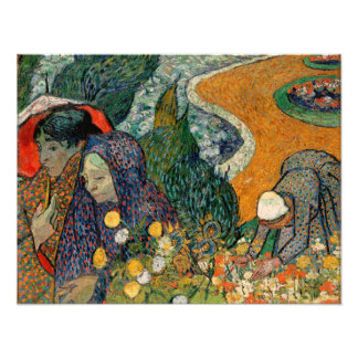 Memory of the Garden at Etten by Vincent Van Gogh Photograph