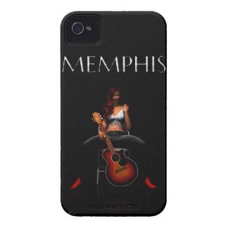 MEMPHIS :: Black Velvet iPhone 4 Case-Mate Cases