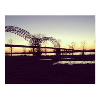 Memphis Bridge Postcard