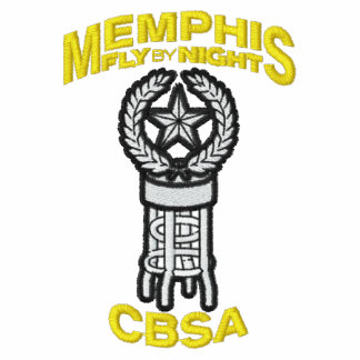 Memphis CBSA on Golf Polo with F-15 and Call Sign