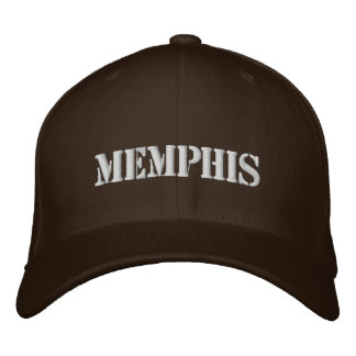 Memphis Embroidered Baseball Cap