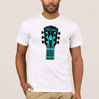 Memphis Guitar Aqua T-Shirt