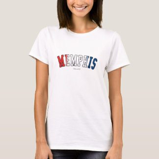 Memphis in Tennessee state flag colors T-Shirt