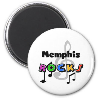 Memphis Rocks Magnet