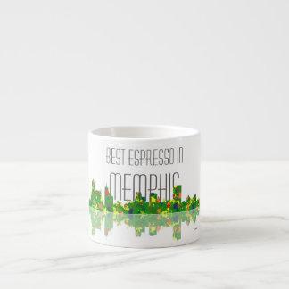 Memphis Skyline Espresso Mug