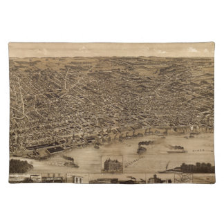 Memphis Tennessee 1887 Placemat