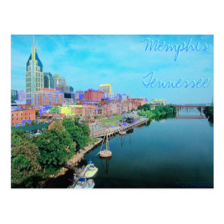 Memphis Tennessee Colored Post Card