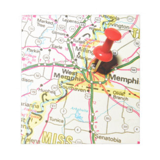 Memphis, Tennessee Notepad
