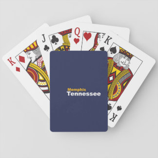 Memphis, Tennessee Playing Cards
