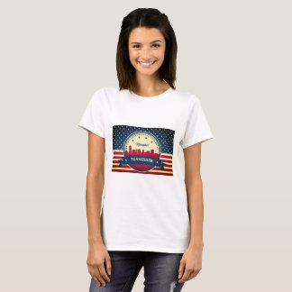 Memphis Tennessee Skyline T-Shirt