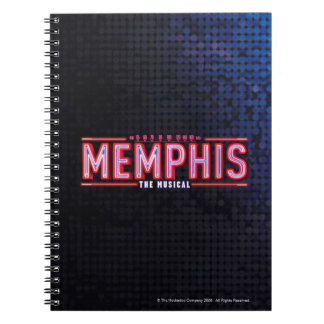 MEMPHIS - The Musical Logo Spiral Note Book
