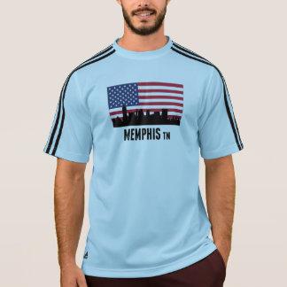 Memphis TN American Flag T-Shirt