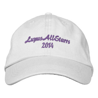 Men can be LupusAllStarrs too! Embroidered Baseball Cap