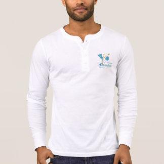 Men s Canvas Henley Long Sleeve Shirt W - EIF D L