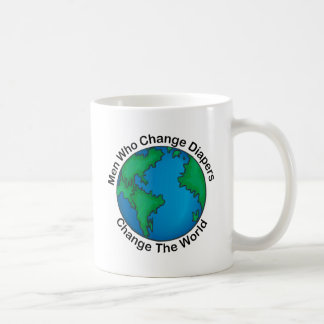 Men Who Change Diapers Change The World Mugs