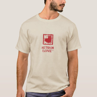 Men's Autism Love Fan Shirt