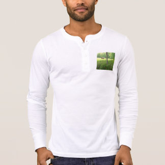 Men's Bella&Canvas Long sleeve Shirt w/pasture