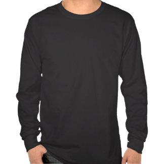 Mens Black LS Tee-Shirt