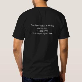 Men's Black Short-Sleeved T-Shirt