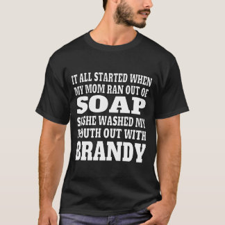 Men's Brandy Drinking T-Shirt