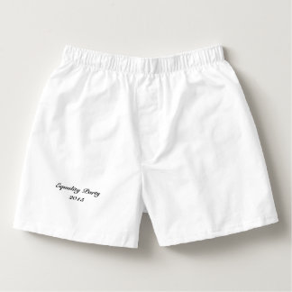 "Men's ""Bynum's Big Gay Birthday Bash"" Underwear Boxers"