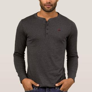 Men's Canvas Henley Long Sleeve T Shirt